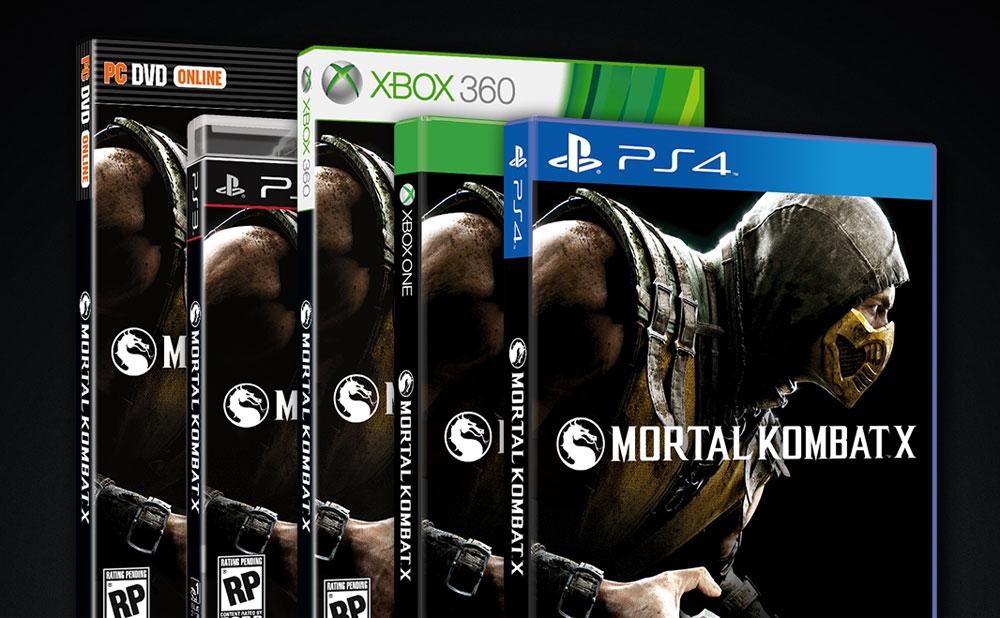 Mortal Kombat X Box Art Is Finished Gaming Age