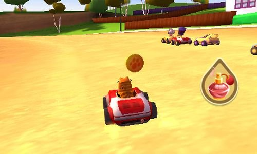 Garfield Kart Review For Nintendo 3ds Gaming Age