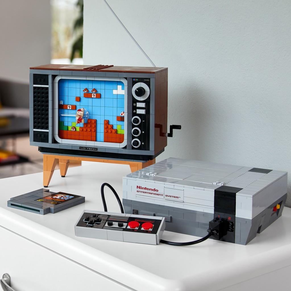 LEGO Nintendo Entertainment System Building Kit launching ...